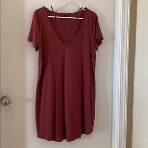 NWOT express T-shirt Dress